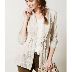 Anthropologie Knitted & Knotted Kose Cardigan M